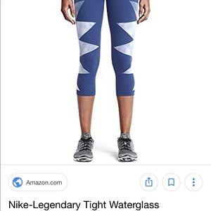 Nike Pants - Nike Legendary Engineered Waterglass Capri